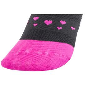 DeFeet Aireator Joy Rides Socken Damen Schwarz/Pink